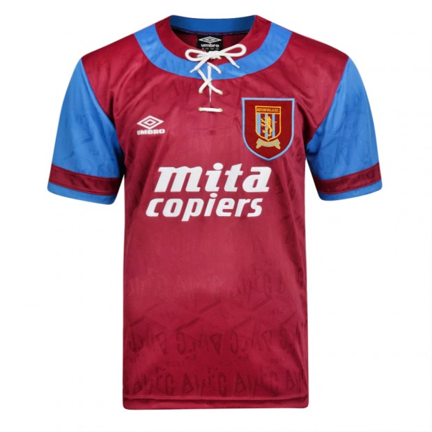 Aston Villa 1992 Umbro shirt