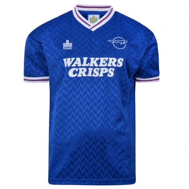 Leicester City 1987 Admiral shirt