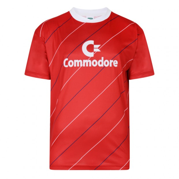 Bayern Commodore 1984 trikot Retro Football shirt