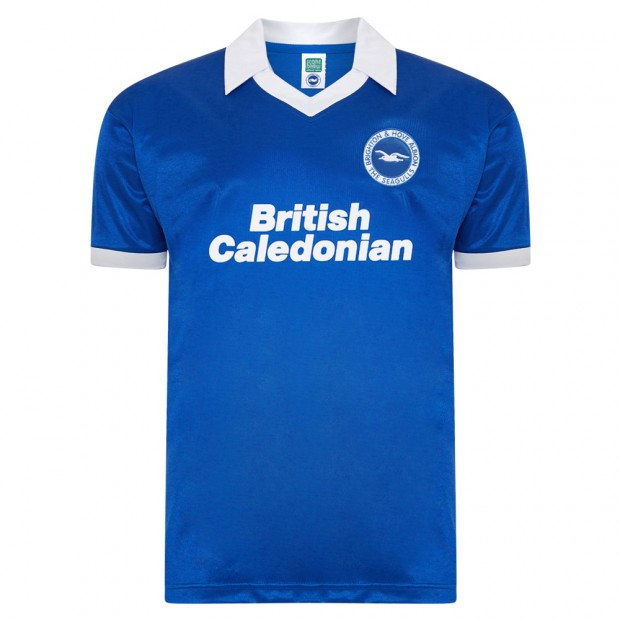 Brighton and Hove Albion 1980 shirt