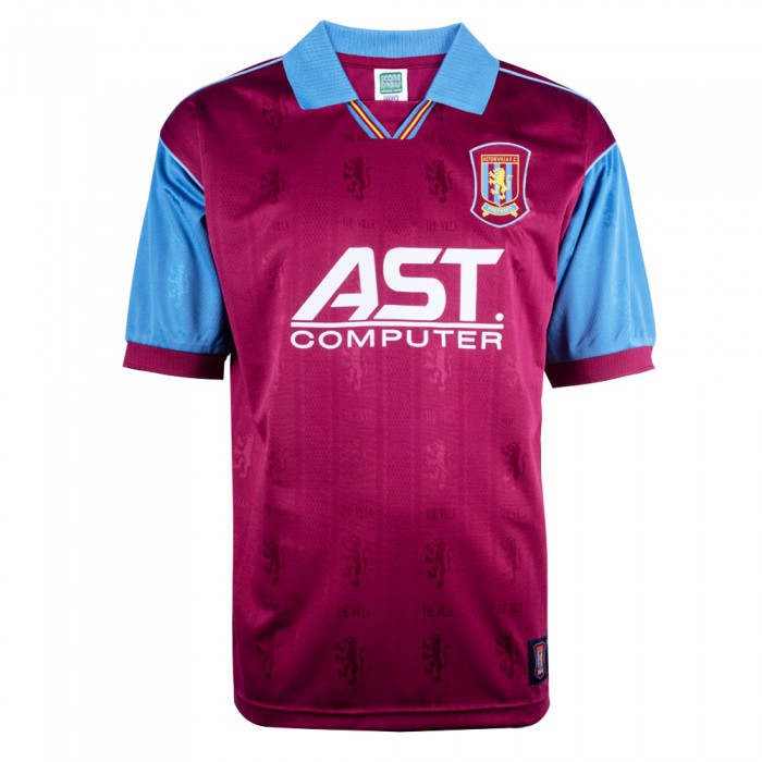 Aston Villa 1996 Retro Football Shirt