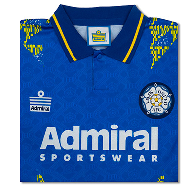 Leeds United 1993 Admiral Away shirt