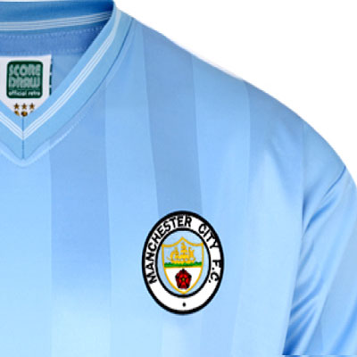 Manchester City 1984 Retro Football Shirt