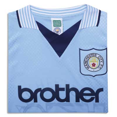 Manchester City 1996 Retro Football Shirt