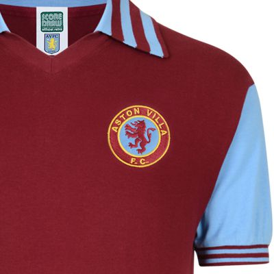 Aston Villa 1981 Retro Football Shirt