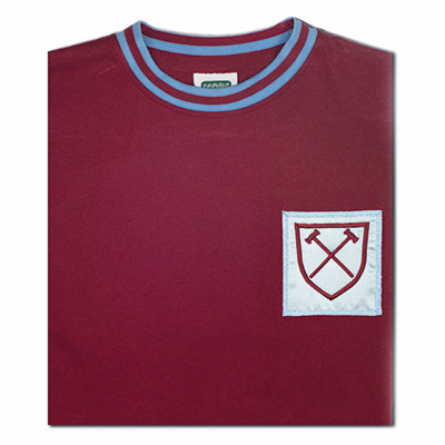 West Ham United 1966 No6 Retro Football Shirt