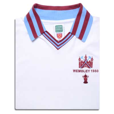 Buy West Ham United 1980 FA Cup Final Retro Shirt  eb66b689b