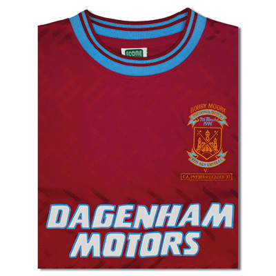 Buy West Ham United 1994 No6 Retro Football Shirt West