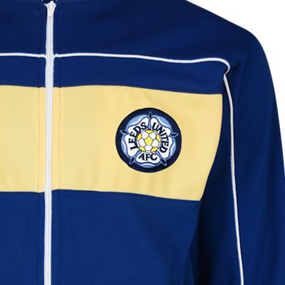 Leeds United 1984 Retro Track Jacket