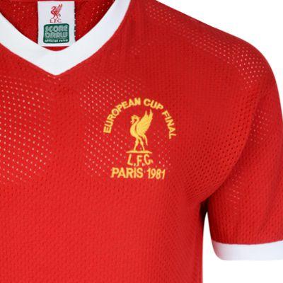 cd7681cd25d Buy Liverpool FC 1981 European Cup Final Retro Shirt