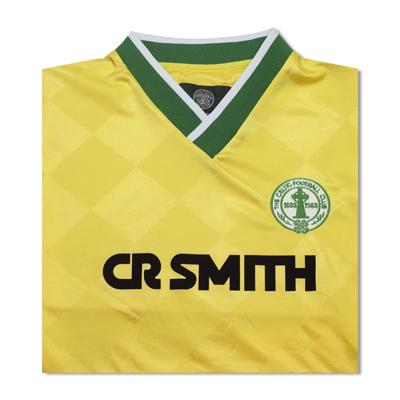 free shipping 0589b 709ed Celtic 1988 Centenary Away Retro Football Shirt