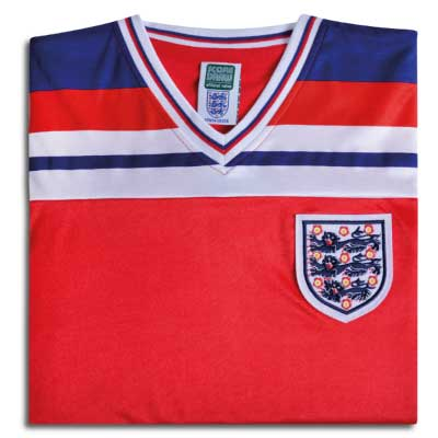 England 1982 World Cup Finals Away No10 Shirt