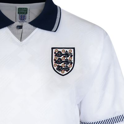 England 1990 World Cup Finals No10 Retro Shirt