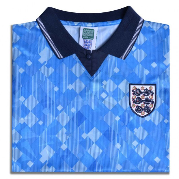England 1990 World Cup Finals Third No19 Shirt