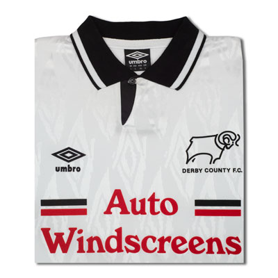 Derby County 1992 Umbro shirt