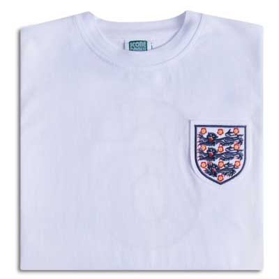 England 1966 World Cup No6 Retro Shirt