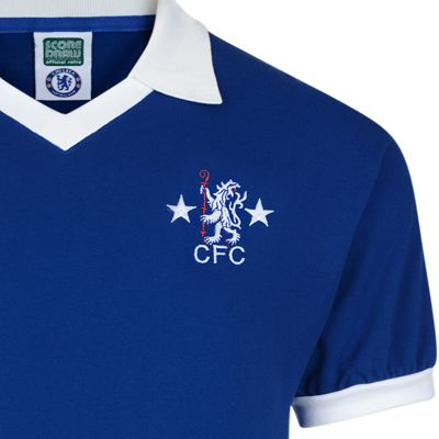 reputable site 94a00 0bed0 Chelsea 1976 Retro Football Shirt
