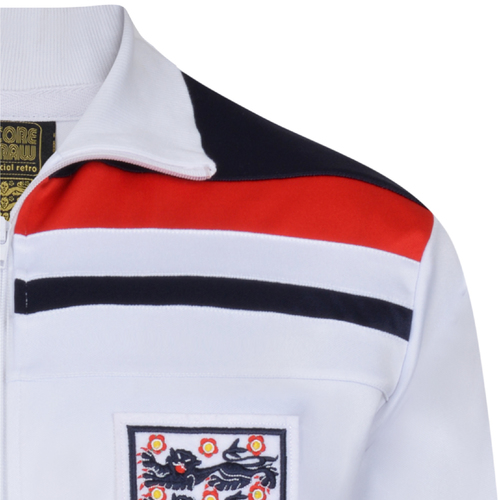 England 1982 Empire White Track Jacket