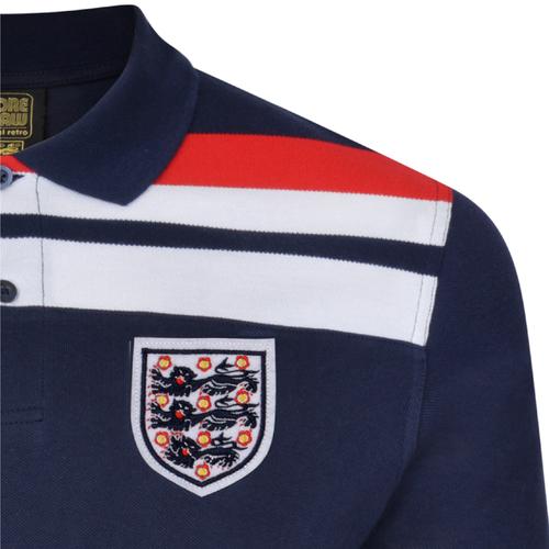 5d092612b Buy England 1982 Empire Navy Polo shirt