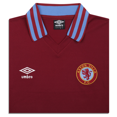 Aston Villa 1980 Umbro shirt