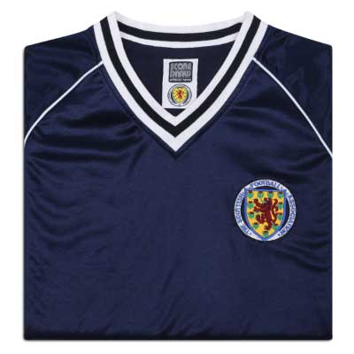 Scotland 1982 Retro Football Shirt