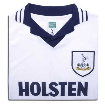 Tottenham Hotspur 1994 No18 Retro Football Shirt