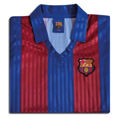 Barcelona 1992 No.10 Retro Football Shirt