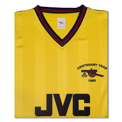 Arsenal 1985 Centenary Away shirt