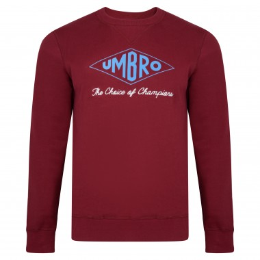 Umbro Choice of Champions Claret Sweatshirt