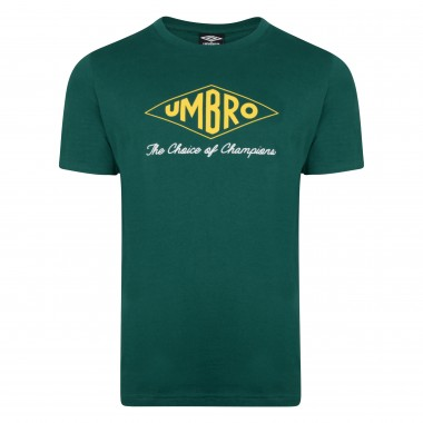 Umbro Choice of Champions Green Tee
