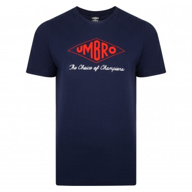 Umbro Choice of Champions Navy England Tee