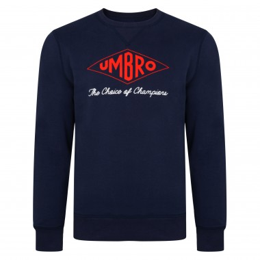 Umbro Choice of Champions Navy England Sweatshirt