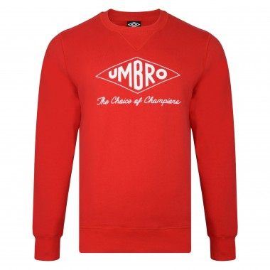 Umbro Choice of Champions Red Sweatshirt