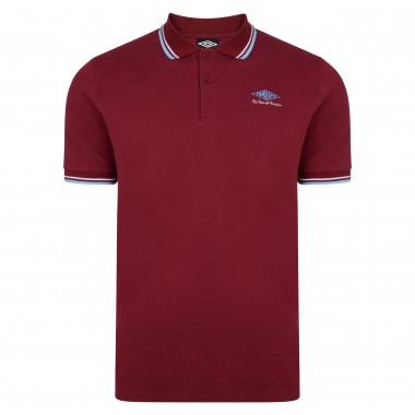 Umbro Choice of Champions Claret Polo Shirt