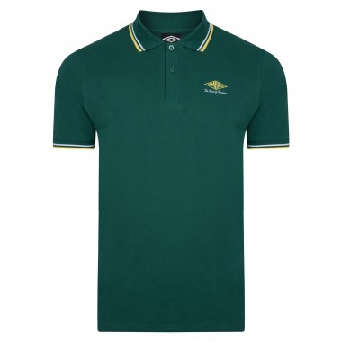 Umbro Choice of Champions Green Polo Shirt