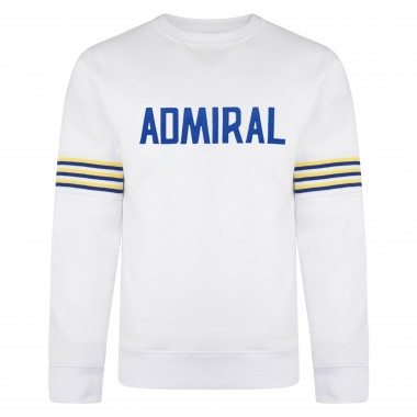 Admiral 1974 White Club Sweatshirt