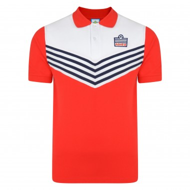 Admiral 1976 Red England Polo